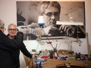 Heiko Schrem in seinem Atelier