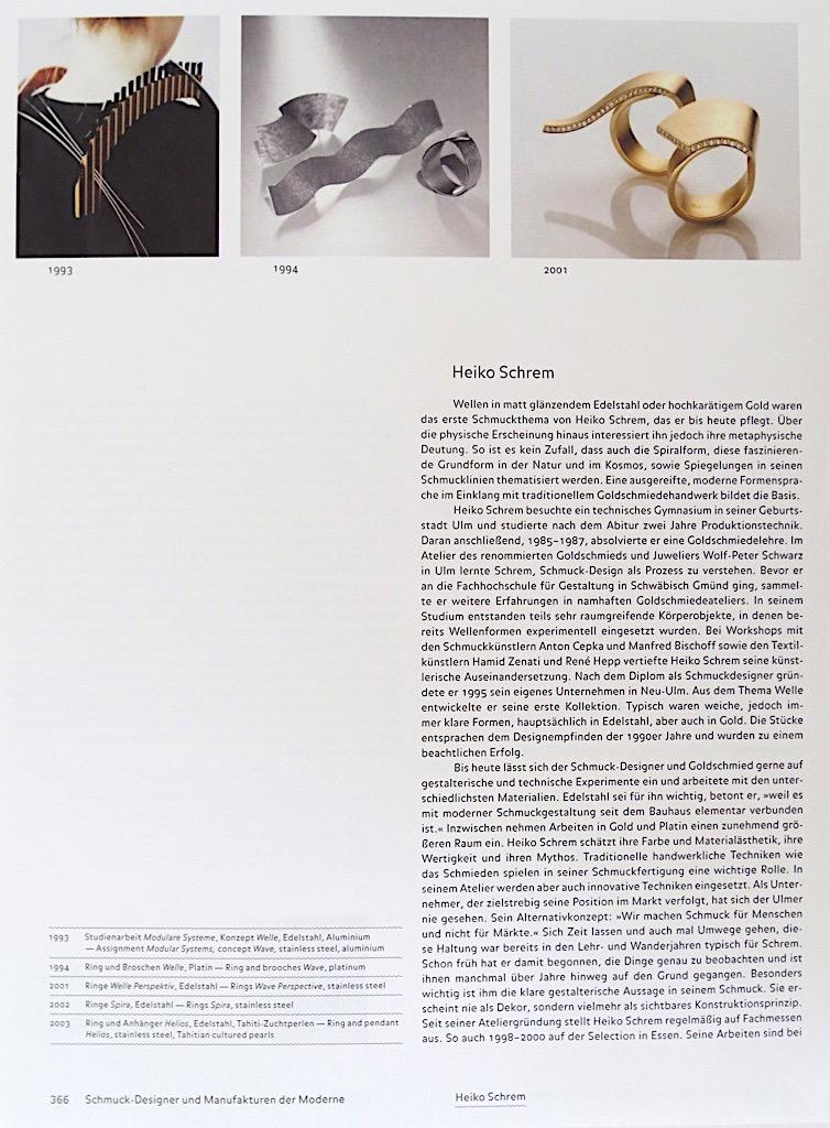 Schmuckdesign der Moderne - 366