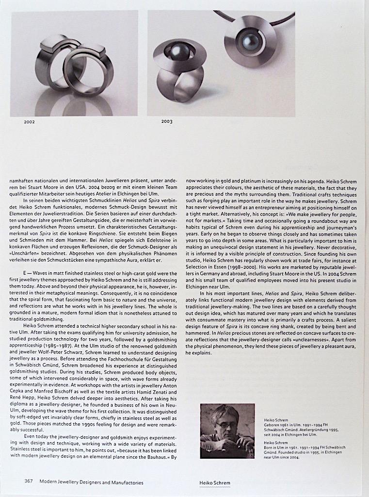 Schmuckdesign der Moderne - 367