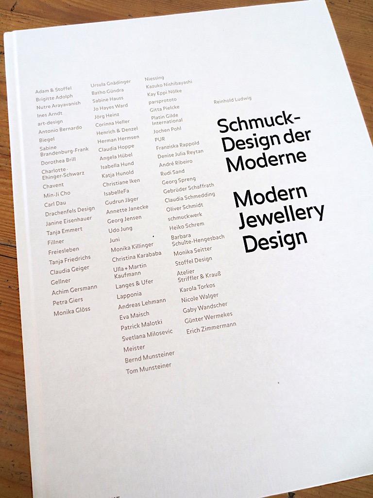 Schmuckdesign der Moderne - Titel