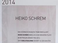 2014 - Perlen Grand Prix - 9. Platz